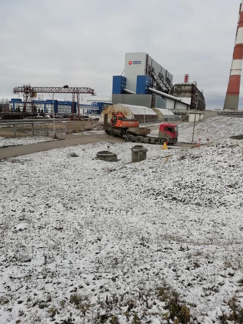 Доставка спецтехники для демонтажа резервуара