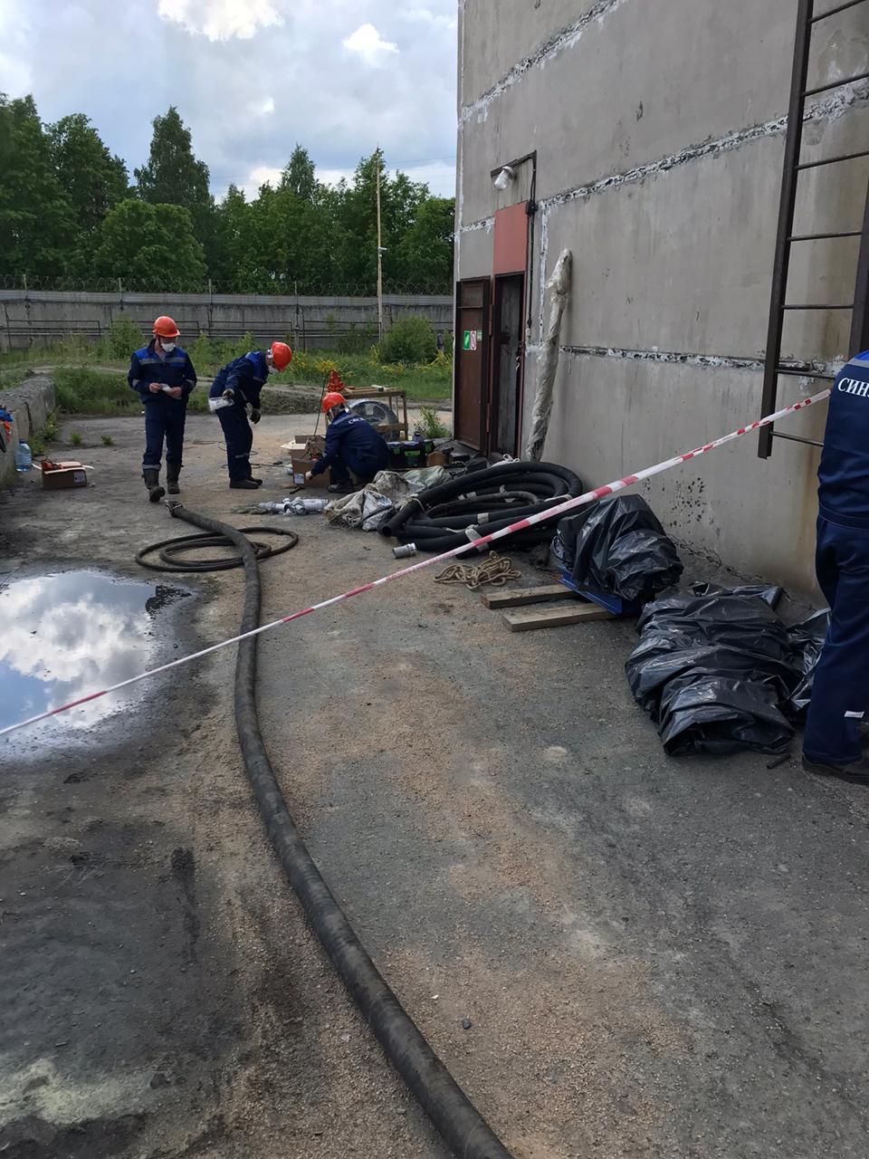 Подготовка к зачистке резервуаров
